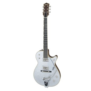 Gretsch G6128T-59 Vintage Select '59 Silver Jet with Bigsby, Silver Angle