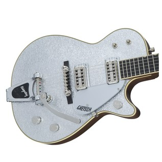 Gretsch G6128T-59 Vintage Select '59 Silver Jet with Bigsby, Silver Left