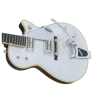 Gretsch G6128T-59 Vintage Select '59 Silver Jet with Bigsby, Silver Right