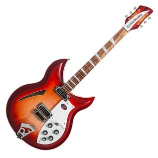 Rickenbacker 381/V69 12 String Hollowbody Guitar, Fireglo main