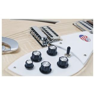 Rickenbacker 381/V69 Hollowbody Guitar, Mapleglo body front