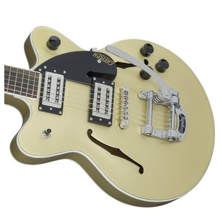 Gretsch G2655T Streamliner Center Block Jr with Bigsby, Golddust Right
