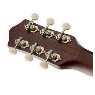 Gretsch G9511 Style 1 Single-0 Parlor Acoustic Guitar Headstock Back