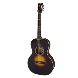 Gretsch G9521 Style 2 Triple-0 Auditorium Acoustic Guitar Angled