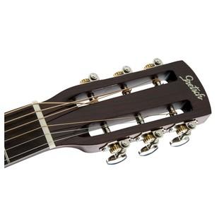 Gretsch G9521 Style 2 Triple-0 Auditorium Acoustic Guitar Headstock