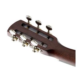 Gretsch G9521 Style 2 Triple-0 Auditorium Acoustic Guitar Headstock Back