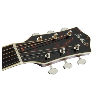 Gretsch G9531 Style 3 Double-0 Grand Concert Acoustic Guitar Headstock