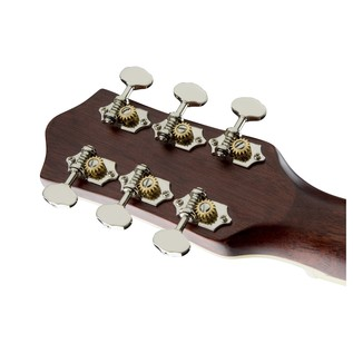 Gretsch G9531 Style 3 Double-0 Grand Concert Acoustic Guitar Headstock Back