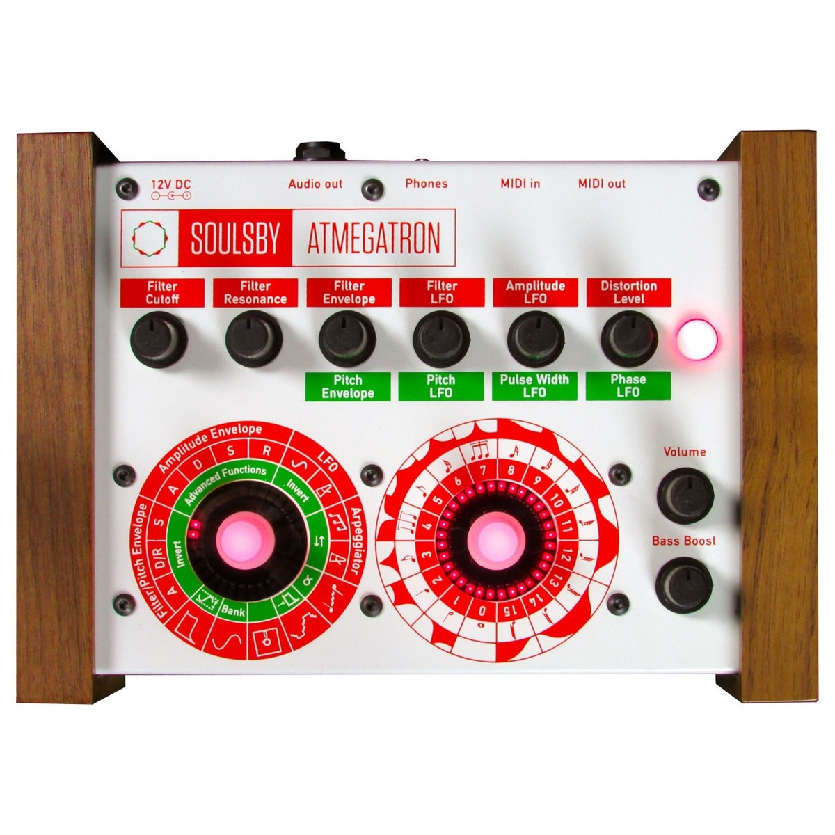 Soulsby Atmegatron 8-Bit Synthesizer