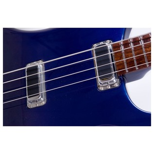 Rickenbacker 4004L Laredo Electric Bass Guitar, Midnight Blue body front