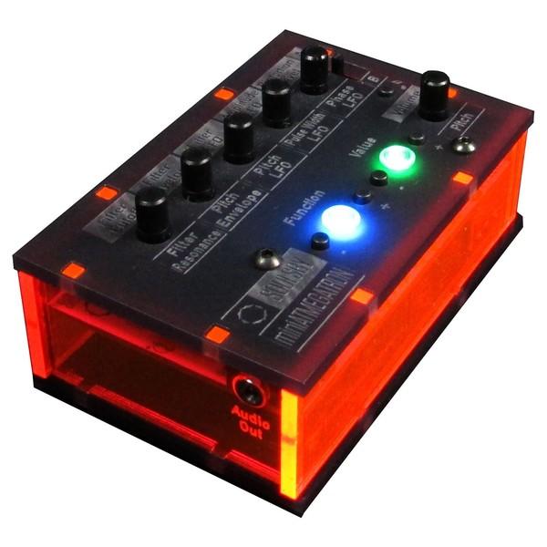 Soulsby miniAtmegatron 8-Bit Monophonic Synth Kit - Angled 2