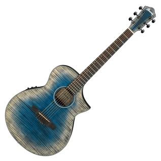 Ibanez AEWC32FM-GBL Thinline Electro Acoustic Guitar