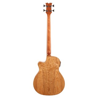 Dean Exotica Quilt Ash Acoustic Bass Natural
