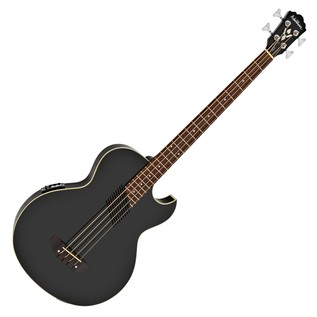 Washburn AB10B Electro Acoustic Bass Guitar Black