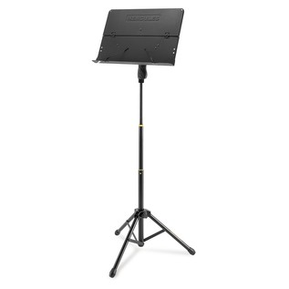 Hercules BS408B Orchestra 3 Section Stand, Solid Desk