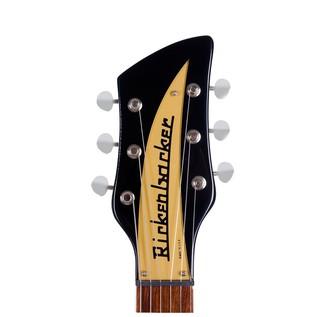 Rickenbacker 660 Electric Guitar, Jetglo headstock