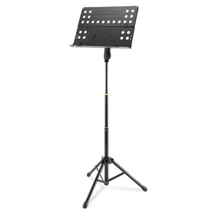 Hercules BS418B Orchestra 3 Section Stand, Perforated Desk