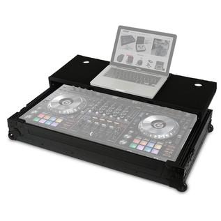 UDG FlightCase DDJ-RZ/SZ & Laptop Shelf - Open (Equipment Not Included)