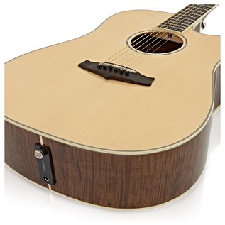 Tanglewood TPE DC DLX Electro Acoustic Guitar, Tiger Stripe Mahogany