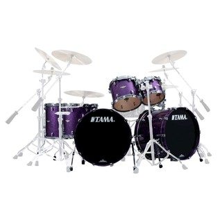 Tama Lars Ulrich Starclassic Maple 6pc Shell Pack, Deeper Purple