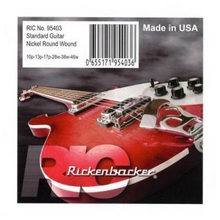 Rickenbacker Nickel Round Wound Guitar Strings, 10-46 main