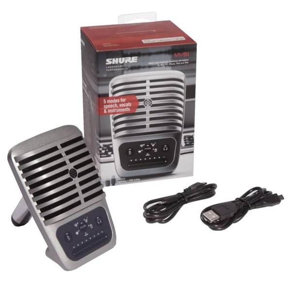 Shure MV51 Motiv Microphone