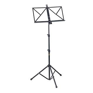 Ortega OMS-1BK Portable Music Stand, Black