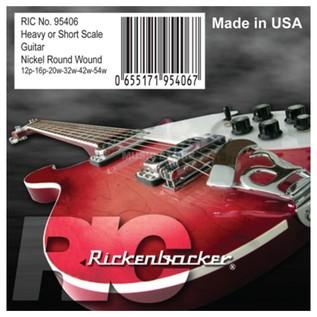 Rickenbacker Nickel Round Wound Guitar Strings, 12-54 main