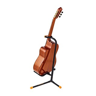 Ortega OGS-1BK Guitar Stand, Orange/Black With Acoustic Back