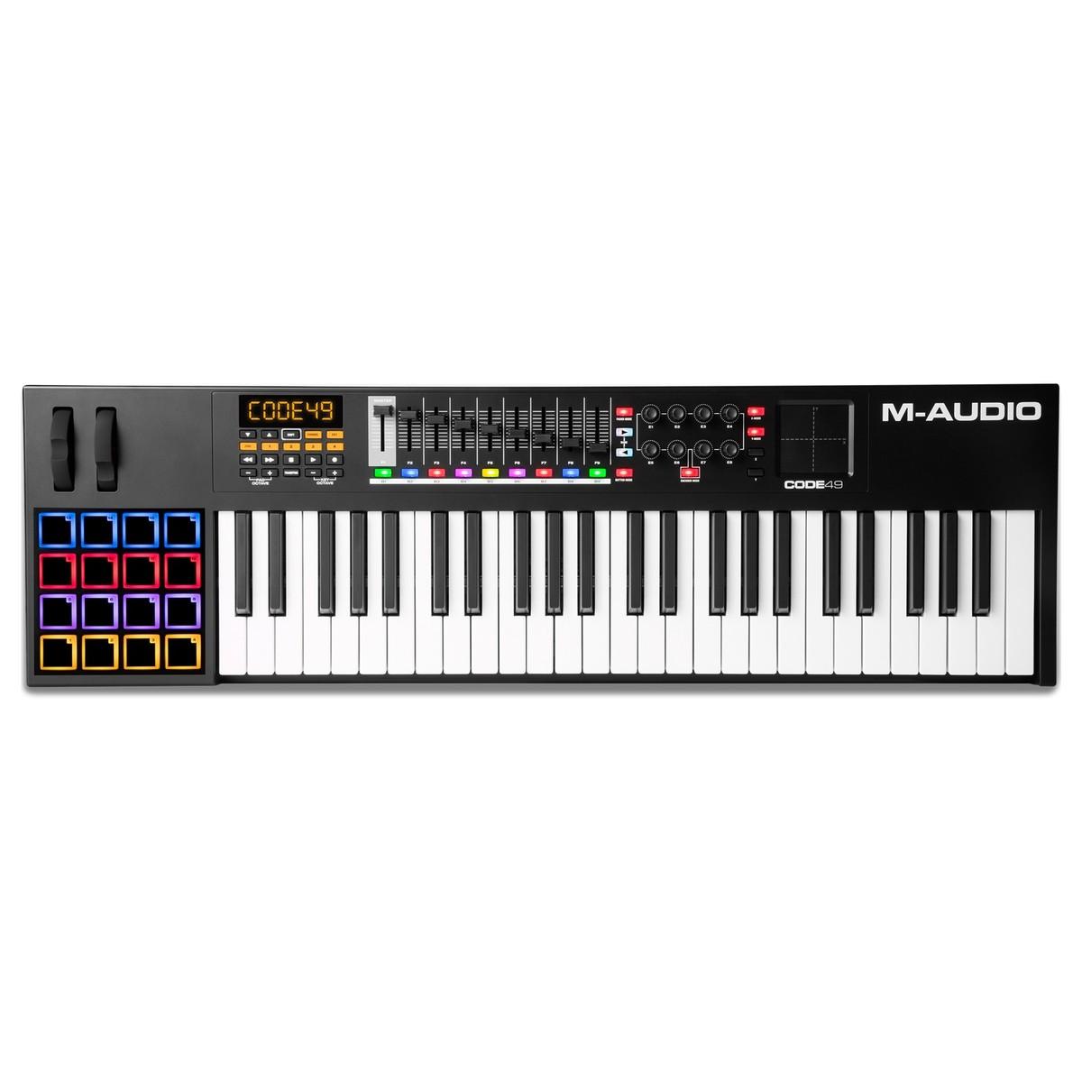 Cheap M-Audio Code 49 Black