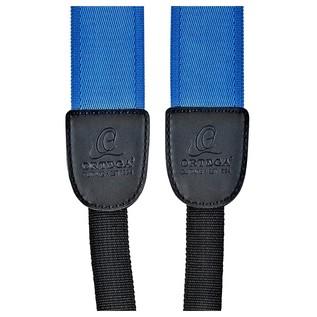 Ortega OUSHK-BL Ukulele Strap, Blue Detail