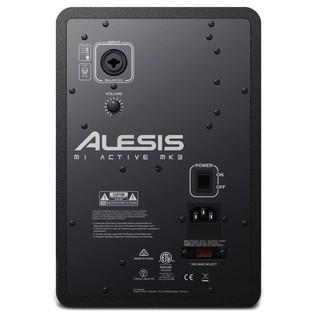 Alesis M1 MKIII Active Studio Monitor - Rear