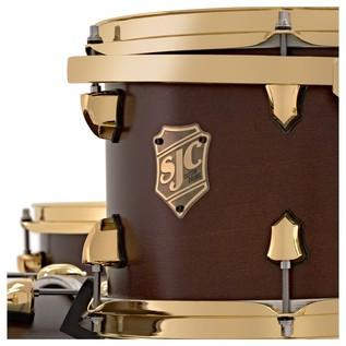SJC Drums Tour 22'' 3 Piece Shell Pack, LTD ED Walnut
