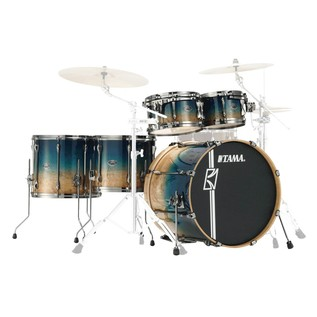 Tama Superstar HyperDrive 5pc Shell Pack, LTD ED Figured Ocean Fade