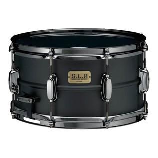 Tama SLP 13'' x 7'' Big Black Steel Snare Drum, Matte Black