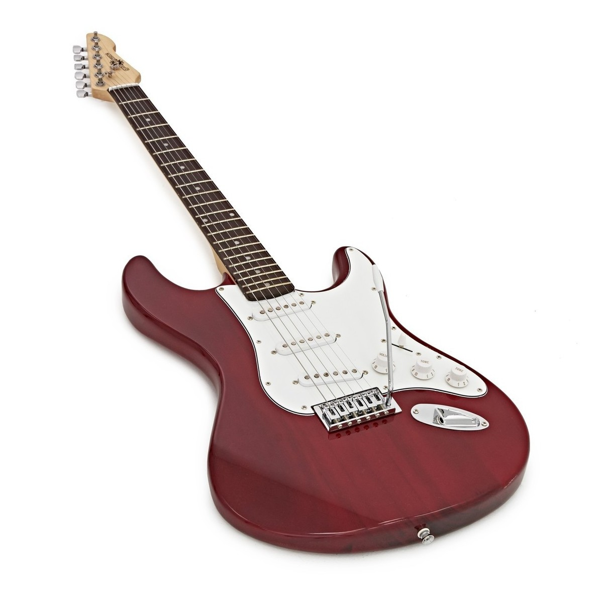 la electric guitar by gear4music red b stock at gear4music. Black Bedroom Furniture Sets. Home Design Ideas