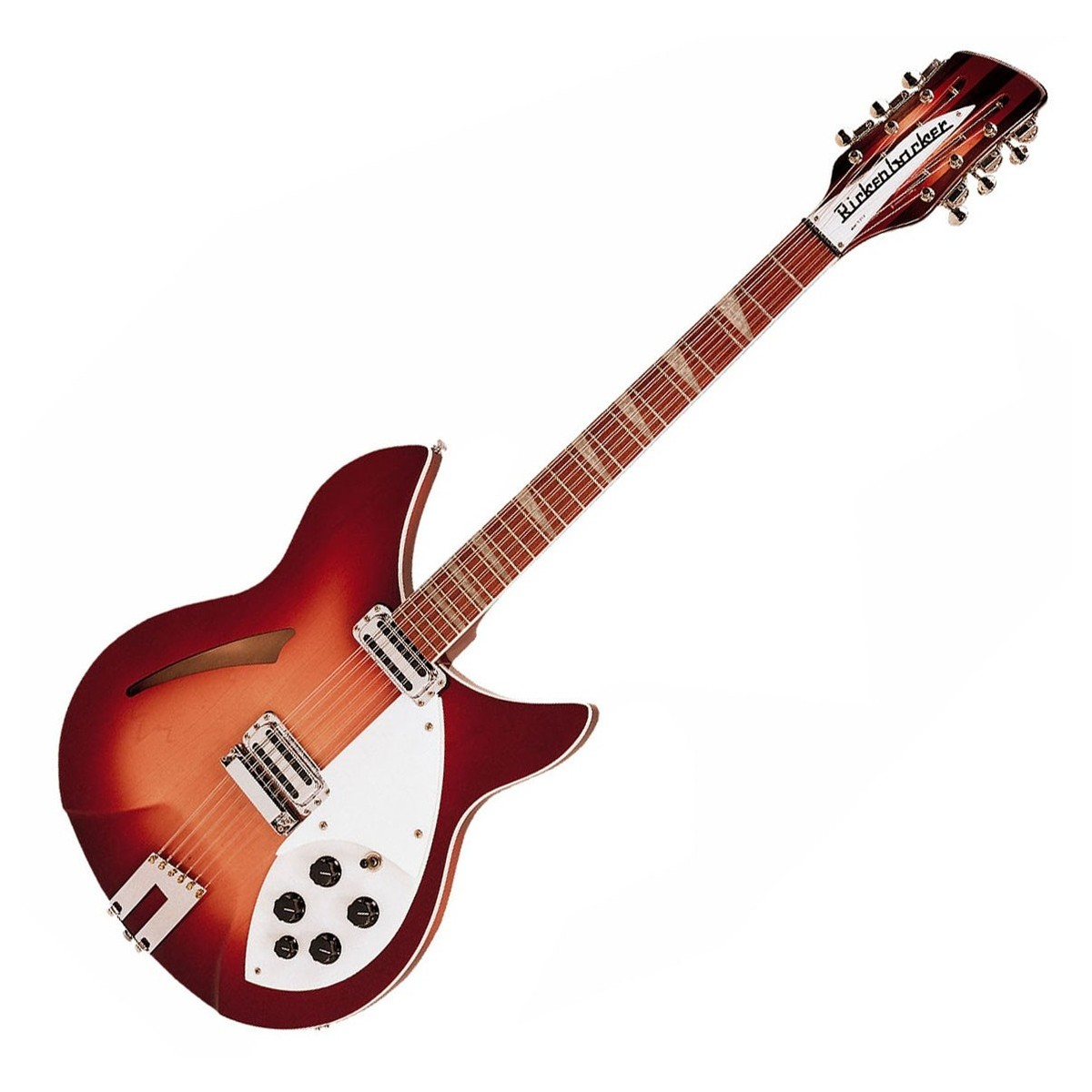 rickenbacker 360 12 c63 12 string guitar fireglo at gear4music. Black Bedroom Furniture Sets. Home Design Ideas