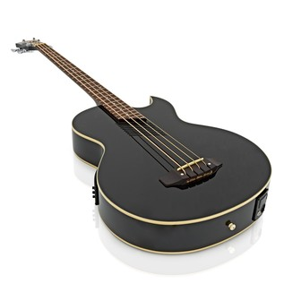 Washburn AB10B Electro Acoustic Bass Guitar, Black