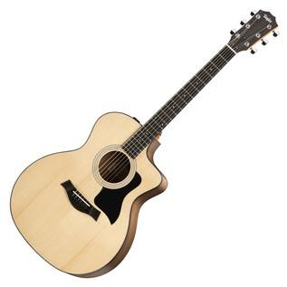 Taylor 114ce Grand Auditorium Electro Acoustic Guitar, Natural (2017)