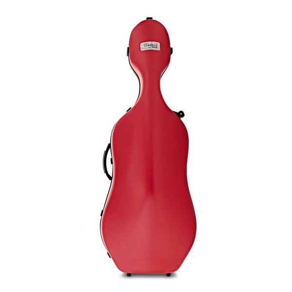 BAM 1001 Classic Cello Case, Red