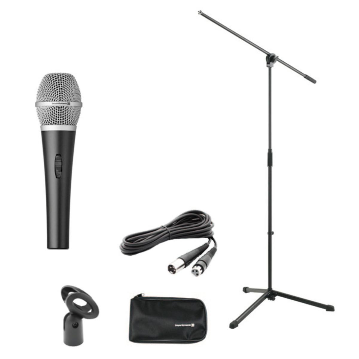 Beyerdynamic V35d S Microphone Set Including Boom Stand