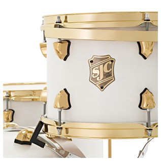 SJC Drums Tour 22'' 3 Piece Shell Pack, LTD ED White