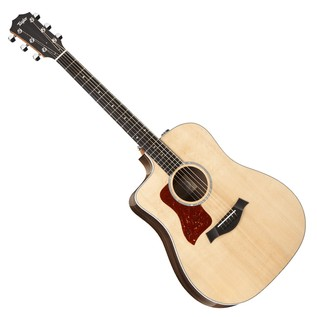 Taylor 210ce Deluxe LH Dreadnought Electro Acoustic Guitar, Natural