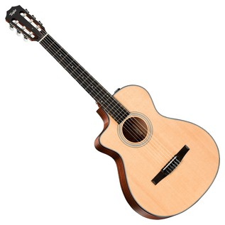 Taylor 312ce-N Grand Concert Left Handed Electro Acoustic Guitar (2017)