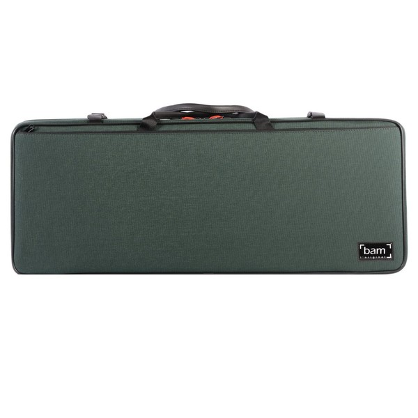 BAM 2005 Classic Double Violin Case, Forest Green