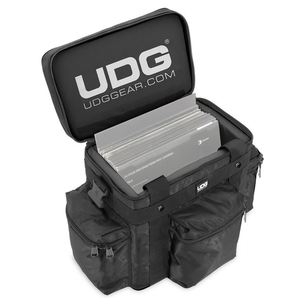 UDG Ultimate SoftBag Vinyl Carry Bag - Open (Vinyl Not Included)