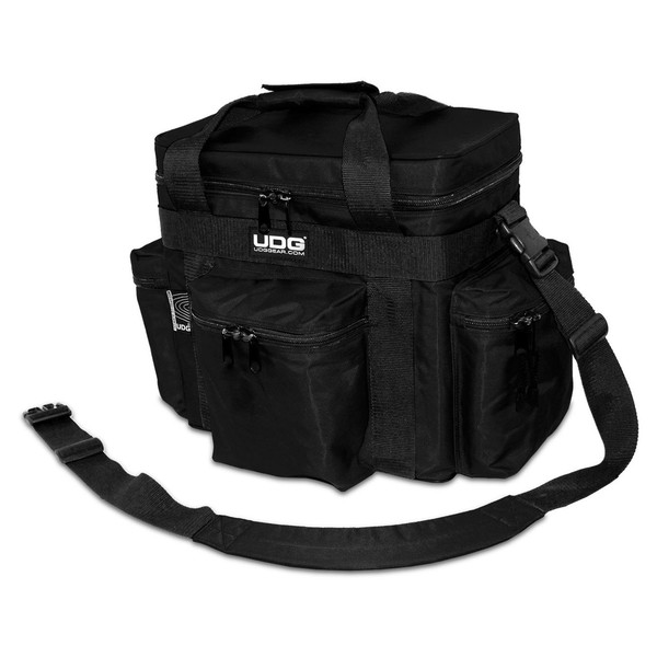 UDG Ultimate SoftBag LP 90 Slanted, Black - Angled