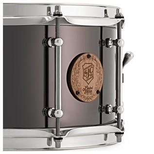 SJC Drums Limited Edition Black Nickel over Steel 14 x 7, Chrome HW