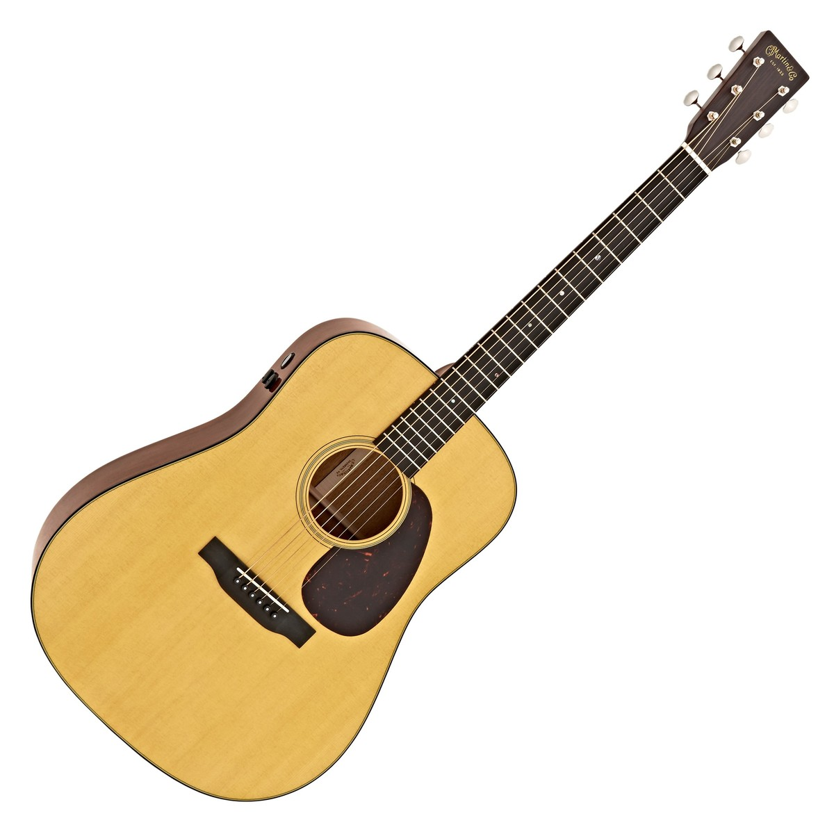 Click to view product details and reviews for Martin D 18e Retro Electro Acoustic Guitar.