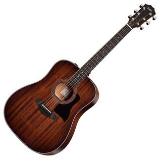 Taylor 320e Dreadnought Electro Acoustic Guitar, Natural (2017)